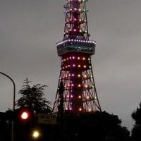 今日(9/9)の東京タワー
