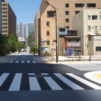 5月の神谷町トラストタワー:開業後の東京ワールドゲートの敷地内の散策 PART4