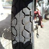 CL50のタイヤの交換