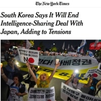 あれ?アメリカの朝日新聞ことNYタイムズまで呆れちゃった?
