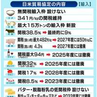 牛肉 豚肉安く?日米新貿易協定 来年1月1日発効の方向で調整