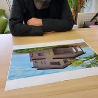 (仮称)吹抜とライブラリーが深みと上質を生み出すアッパーモダンの家新築工事計画、設計デザインの感度と勘所を整理整頓しながら暮らしのスペックを心地よく印象的に。