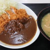 かつや「カツカレー(竹)+とん汁(大)」