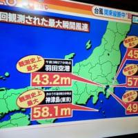関東を直撃した最強クラスの台風15号