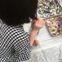 三田のガラス工芸館のワークショップ