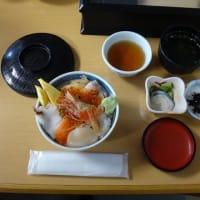 19.利尻富士の見える武ちゃん寿司でランチ