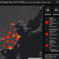 <新型コロナウイルス>「武漢だけで、2月4日までに最大35万人超が感染」英米研究チーム
