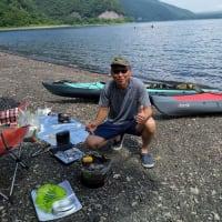 週末、本栖湖へキャンプに行きました