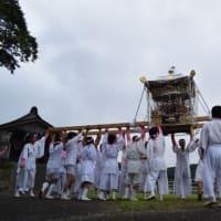 山名のお祭り お神輿の渡御(南房総市)