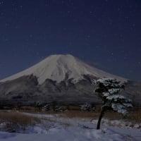 今年初の撮影は雪景色