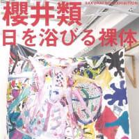 櫻井類展 ..日を浴びる裸体