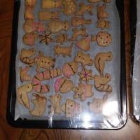 クッキー作り終わる!!