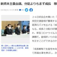 明日に向けて(2110)岸田首相の「新しい資本主義」では何も変わらない。新自由主義の本当の変革が問われている