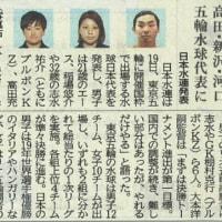 東京オリンピック水球日本代表決定!