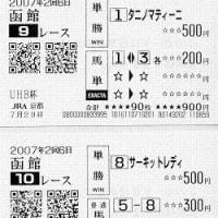 小倉記念、函館競馬ほか回顧
