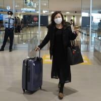 博多に到着したゲスト。