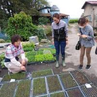 先進農業体験学習に取り組む農業大学校生の巡回指導を行ないました。