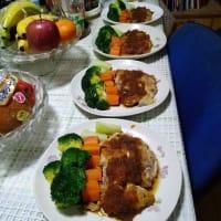 うちの晩ご飯 2月20日(木)チキンソティーと豚汁