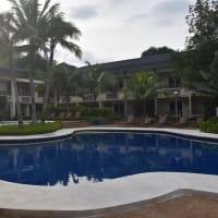 2019年夏休み フィリピン旅行・ブスアンガ・コロン島旅行(6日目-2)朝のプール