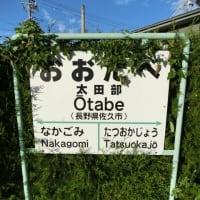 06/18: 駅名標ラリー 小海線ツアー#03: 羽黒下, 龍岡城, 太田部 UP