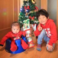 今日は息子にとって待ちに待ったクリスマス!