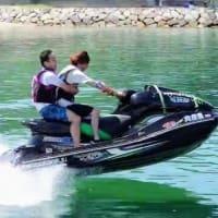 ジェットスキー バナナボート トーイングチューブ ウエイクボード 周防大島の夏