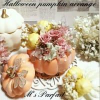 ハロウィン パンプキン アレンジ