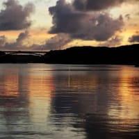 夕空の入り江 (賢島)