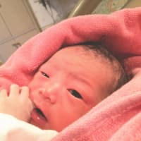 こんにちは 赤ちゃん(*^^*)