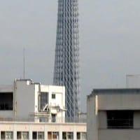 今朝の東京スカイツリー(2021/6/13)