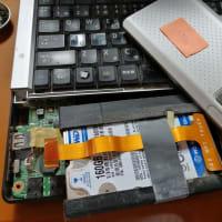 古いノートパソコン SSD換装 デュプリケーター800-TK019