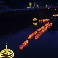 宵の川の灯籠 (神津佐)