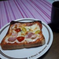 昨日の弁当と今日の朝ごパン