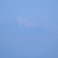 大島が見えました。(館山市伊戸より)