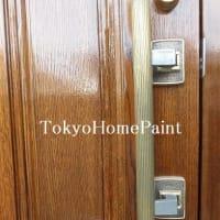 アイカ木製玄関ドア 20年経ってようやく巡り合えました!