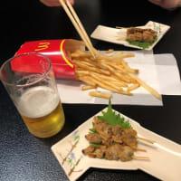 魚竹寿司でマクドナルド♪