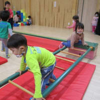 幼稚園の自由遊び