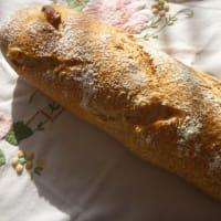 コーン&チーズのパン