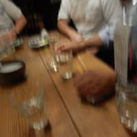 四谷荒木町の「宵のま」で友人と飲み会