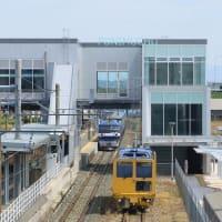 EF210トヨタロングパスエクスプレス 天竜川駅下1入線 その2 (2021年4月 オマケいろいろ)