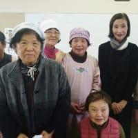JAとぴあ浜松女性部 三方原地区でだし講座