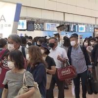 コロナ禍で欧州→米国に株価暴落が拡がる⇔コロナ前の去年から激増の人出の日本。Gotoキャンペーンに東京を入れるのはまだ早い。