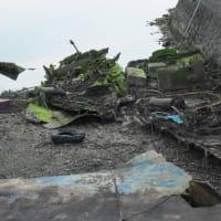 船の墓場in計石港