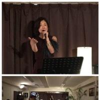 12月7日(土)の午後は、早坂亜紀(vo)さんのライブでした