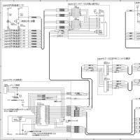 Nゲージで列車の速度と分岐ポイントを制御できる回路図(文章も下についてるよ)