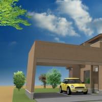 暮らしの環境と住まいの設計デザインに外構と庭とガレージ(駐車場)連動の視野は排泄で巣よ、紐づけ(関連付け)のデザインを考えておかないと家の使い方にも影響が出ますから。