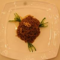 本場の西安名物料理---温拌腰糸