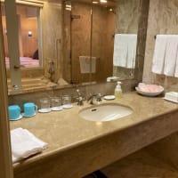 ホテルオークラ東京ベイの水回りチェック
