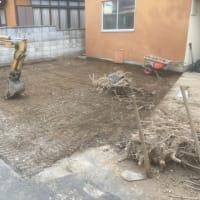 千葉県 我孫子市 コンクリート 掘削作業