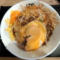 【限定】一七五郎まぜそば@175°DENO担担麺 札幌北口店